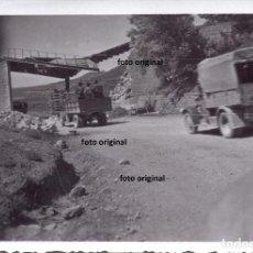 Militaria: TRASLADO TROPAS CTV DIVISION LITTORIO DESDE ARAGON A CATALUÑA 1938 GUERRA CIVIL. Lote 155489810