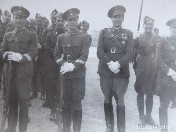 FOTOGRAFÍA SOLDADOS INGENIEROS DEL EJÉRCITO ESPAÑOL. CEUTA 1940 (Militar - Fotografía Militar - Otros)