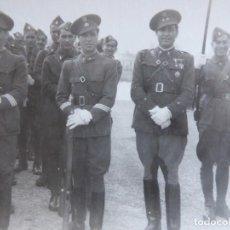 Militaria: FOTOGRAFÍA SOLDADOS INGENIEROS DEL EJÉRCITO ESPAÑOL. CEUTA 1940. Lote 155536614