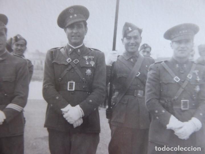 Militaria: Fotografía soldados ingenieros del ejército español. Ceuta 1940 - Foto 3 - 155536614