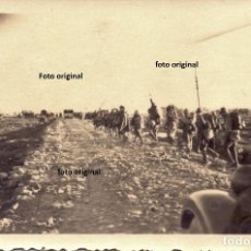 Militaria: AVANCE TROPAS CTV DESDE LES GARRIGUES(LLEIDA) HACIA TARRAGONA 1938 GUERRA CIVIL LEGION CONDOR . Lote 155561330