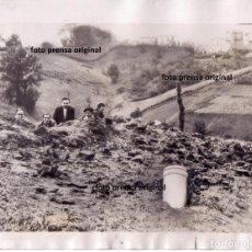Militaria: BOMBARDEO SOBRE SAN SEBASTIAN MILICIANOS REPUBLICA CERCA AGOSTO 1936 GUERRA CIVIL . Lote 155651678