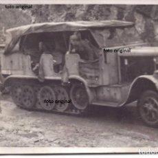 Militaria: TRACTOR SEMIORUGA KRAUSS-MAFFEI SD KFZ 7 LEGION CONDOR FRENTE NORTE 1937 GUERRA CIVIL. Lote 155655858