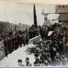 Militaria: II GUERRA MUNDIAL, ITALIA, RECIBIMIENTO A HÉROE DE GUERRA MUERTO.. Lote 155677478