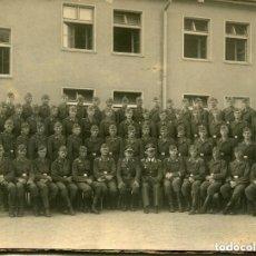 Militaria: GRUPO DE SOLDADOS DEL EJERCITO ALEMAN 20-9-1939-FOTOGRÁFICA ORIGINAL-MUY RARA. Lote 155724590