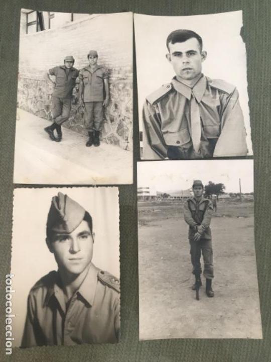 ANTIGIAS FOTOGRAFÍAS MILITARES SOLDADOS SERVICIO MILITAR AÑOS 70 (Militar - Fotografía Militar - Otros)