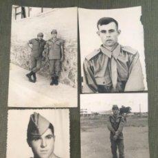 Militaria: ANTIGIAS FOTOGRAFÍAS MILITARES SOLDADOS SERVICIO MILITAR AÑOS 70. Lote 155777966