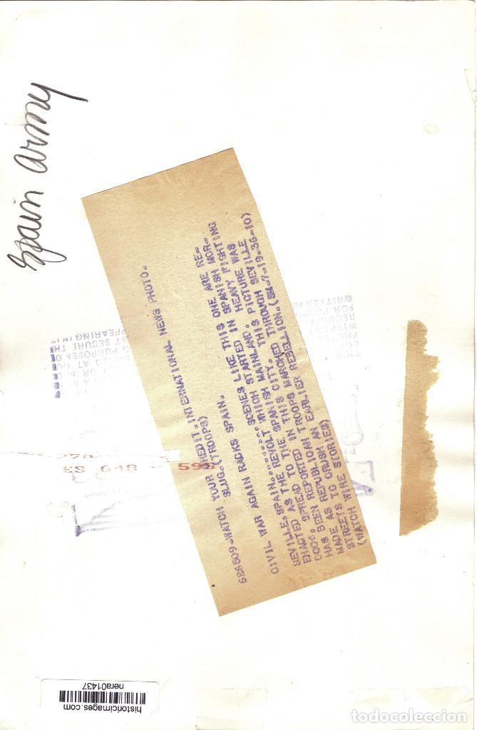Militaria: FUERZAS REPUBLICANAS GUARDANDO SEVILLA DIA DESPUES ALZAMIENTO NACIONAL GUERRA CIVIL - Foto 2 - 155812338