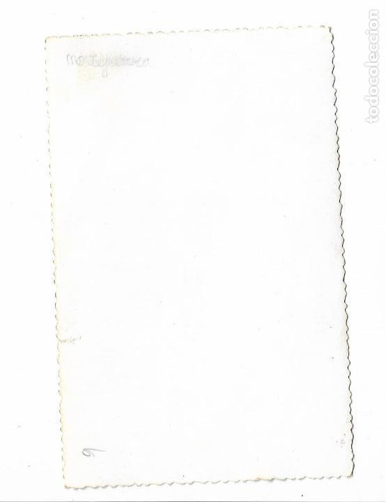 Militaria: antigua fotografia montejurra -carlista francisca de borbon parma - carlismo requete - 14x9cm - Foto 2 - 155916618