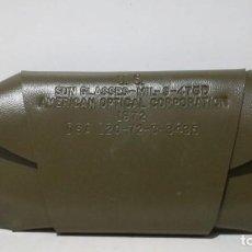 Militaria: FUNDA DE GAFAS EJÉRCITO AMERICANO . Lote 155935174