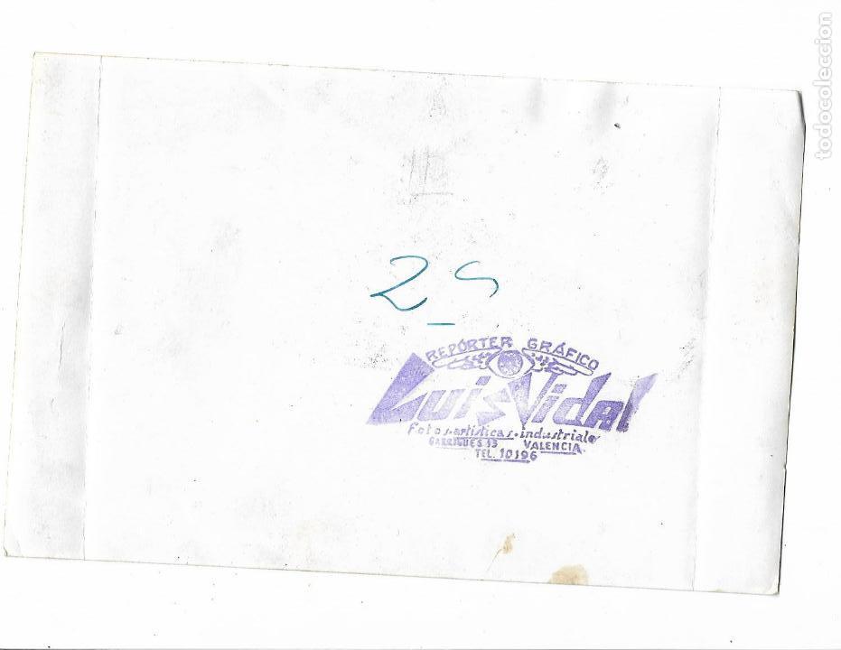 Militaria: antigua fotografia . adolfo ricon con Mª Teresa y francisca de borbon parma - años 60 .carlista - Foto 2 - 155957830