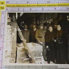 Militaria: FOTO FOTOGRAFÍA MILITAR POLÍTICA. FALANGISTA, CORONEL. FOTO PEREZ DE ROZAS, BARCELONA. Lote 155966126
