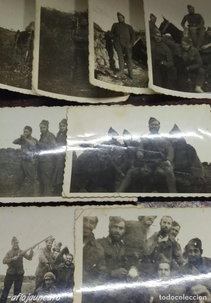INTERESANTE LOTE FOTOGRAFIAS MILITARES (Militaria - Militärische Fotografien - Spanischer Bürgerkrieg)