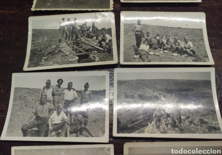 Militaria: Interesante lote fotografias militares - Foto 3 - 156468974