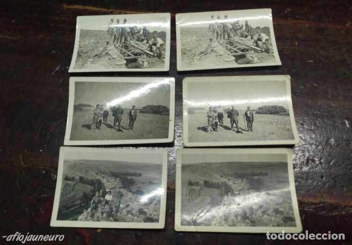 LOTE FOTOGRAFIAS MILITARES (Militar - Fotografía Militar - Guerra Civil Española)