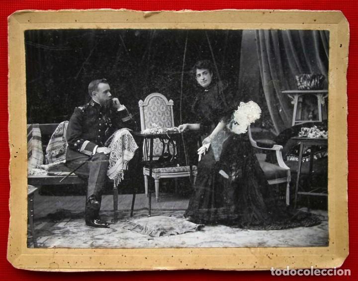 FOTOGRAFÍA ANTIGUA. 7 DE AGOSTO DEL AÑO 1906. CARLISMO. CARLISTA. REQUETÉ. (Militar - Fotografía Militar - Otros)