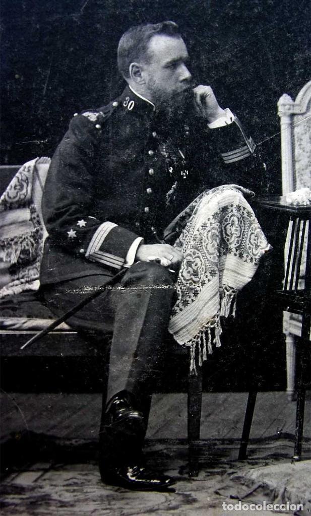 Militaria: FOTOGRAFÍA ANTIGUA. 7 DE AGOSTO DEL AÑO 1906. CARLISMO. CARLISTA. REQUETÉ. - Foto 4 - 156640474