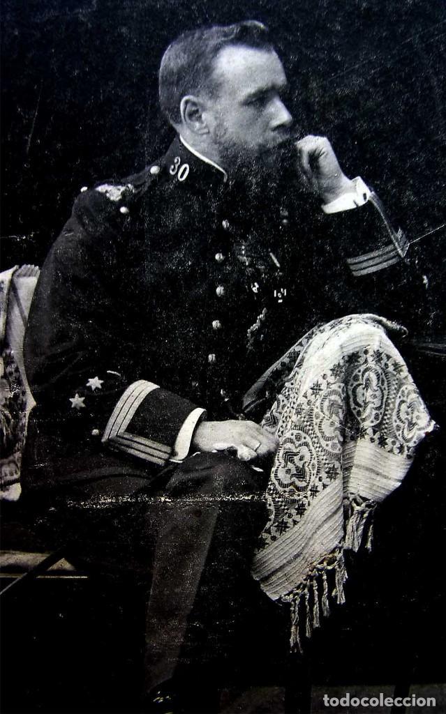 Militaria: FOTOGRAFÍA ANTIGUA. 7 DE AGOSTO DEL AÑO 1906. CARLISMO. CARLISTA. REQUETÉ. - Foto 6 - 156640474