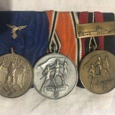 Militaria: ALEMANIA III REICH, PASADOR 4 AÑOS EN LA LUFTWAFFE, ANEXIÓN DE AUSTRIA Y DE LOS SUDETES,. Lote 156678806
