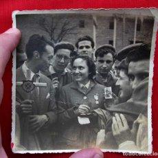 Militaria: LA PRINCESA FRANCISCA MARIA DE BORBÓN. 9 DE MARZO DEL AÑO 1952. CARLISMO. CARLISTA. REQUETÉ.. Lote 156732310