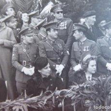 Militaria: FOTOGRAFÍA OFICIALES DEL EJÉRCITO ESPAÑOL. CEUTA 1941. Lote 156773214