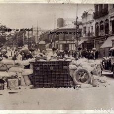 Militaria - BARRICADAS CALLES MADRID MILICIAS FRENTE POPULAR REPUBLICA AGOSTO 1936 GUERRA CIVIL - 156863366
