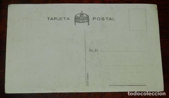 Militaria: Postal del Principe Eugenio Láscaris - Comneno, Capitán honorario del Requeté Aragonés. Carlismo. Ed - Foto 2 - 157207874