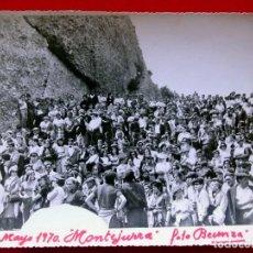 Militaria: MONTEJURRA. NAVARRA. AÑO: 1970. TAMAÑO GRANDE. BUEN ESTADO. FOTO BEUNZA. BURGOS. CARLISTA. CARLISMO.. Lote 157359926
