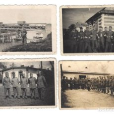Militaria: GEBIRSJAGER DE LA WEHRMACHT. 4 FOTOS DEL MISMO SOLDADO. Lote 157770158