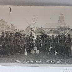 Militaria: FOTOGRAFÍA NAZI ORIGINAL SELLADA ATELIER. Lote 157826525