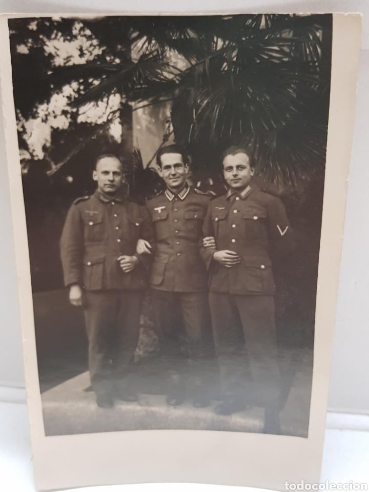 ANTIGUA FOTOGRAFÍA MILITAR NAZI (Militar - Fotografía Militar - II Guerra Mundial)