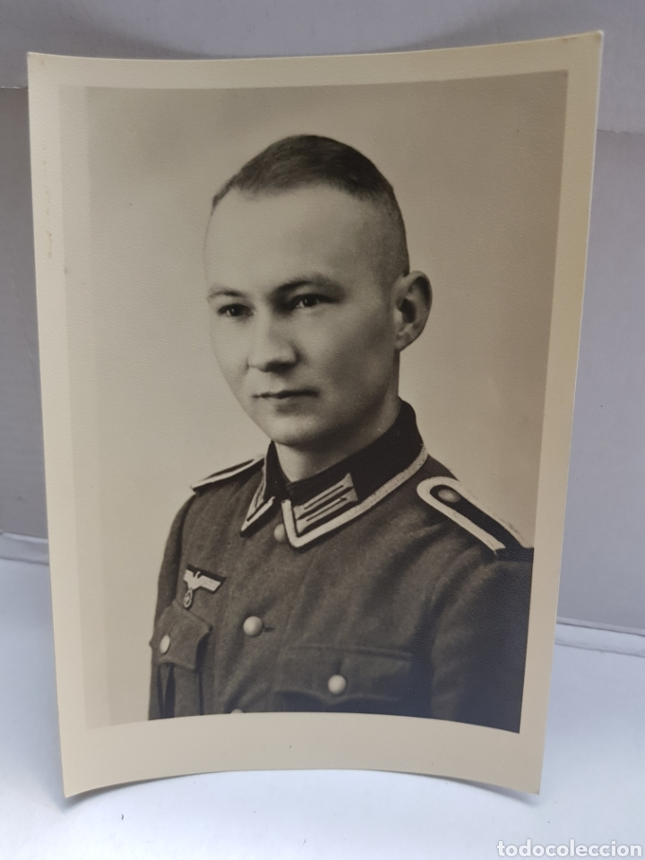 FOTOGRAFÍA ANTIGUA MILITAR NAZI ORIGINAL 1940 SELLADA (Militar - Fotografía Militar - II Guerra Mundial)