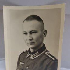 Militaria: FOTOGRAFÍA ANTIGUA MILITAR NAZI ORIGINAL 1940 SELLADA. Lote 157829424