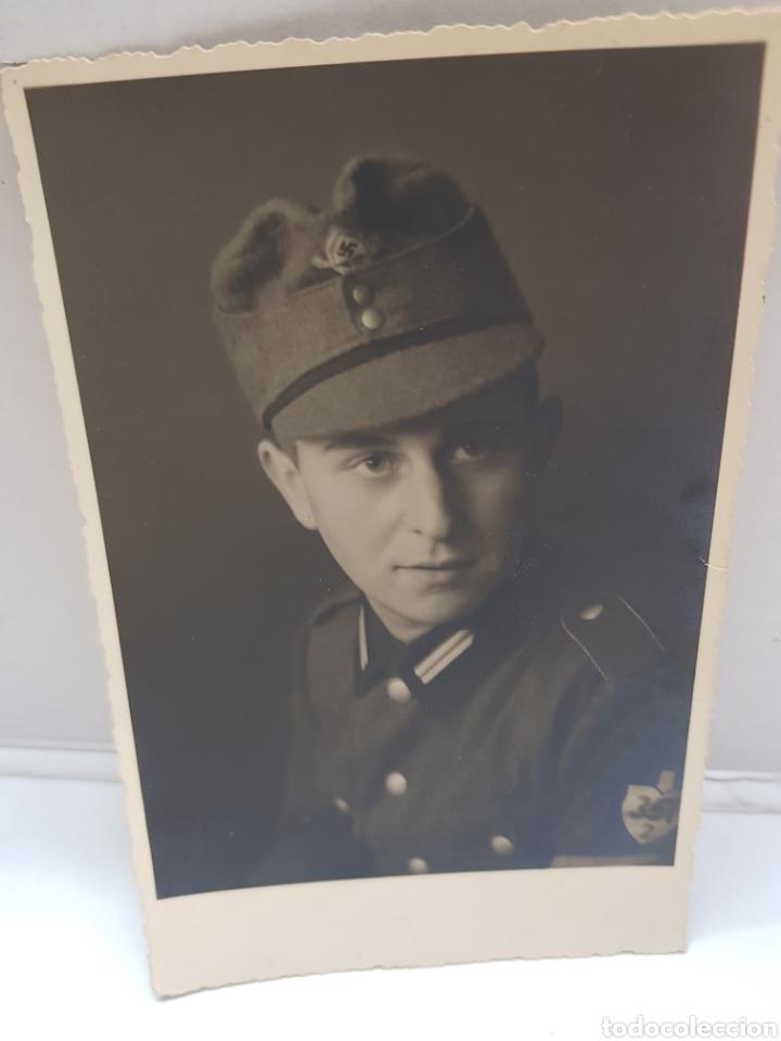 FOTOGRAFÍA ANTIGUA MILITAR NAZI ORIGINAL (Militar - Fotografía Militar - II Guerra Mundial)