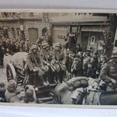 Militaria: FOTOGRAFÍA ANTIGUA MILITAR NAZI ORIGINAL Y RARA. Lote 157830257