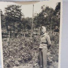 Militaria: FOTOGRAFÍA ANTIGUA MILITAR NAZI ORIGINAL. Lote 157830376
