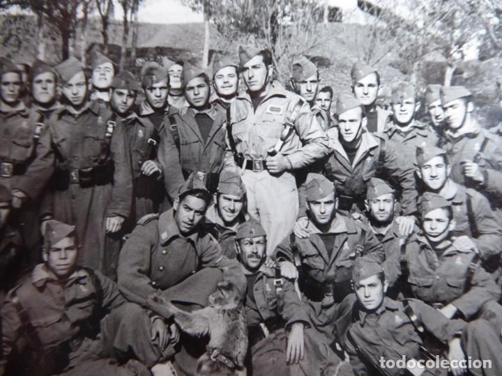 Militaria: Fotografía legionarios. Tetuán 1953 - Foto 4 - 157984530