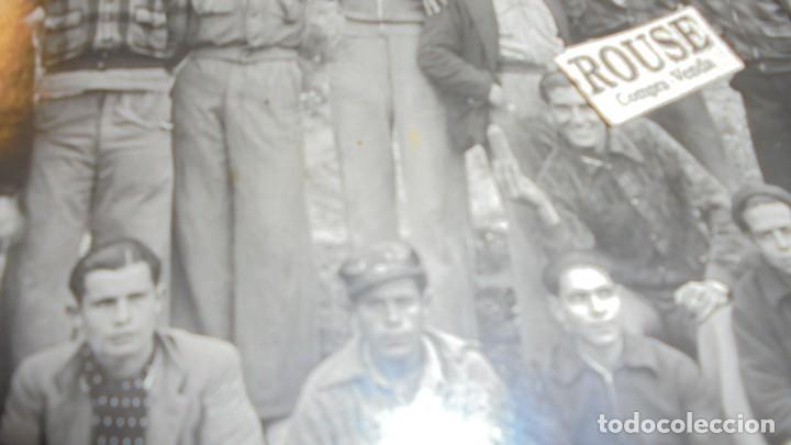 Militaria: GUERRILLEROS MAQUIS - ANTIGUA FOTOGRAFIA ORIGINAL MONTADA SOBRE CARTULINA EL SEÑOR DE LA GORRA SE - Foto 2 - 158043614