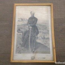 Militaria: EL CONDE DE LA CASA MAROTO. J. TOLOSA DIBUJO Y LITOGRAFÍA.. Lote 158278322