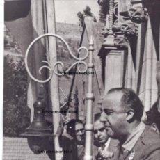 Militaria: FOTO PRENSA REEDITADA 1975 GENERAL FRANCO ENTRADA MADRID 1939 GUERRA CIVIL. Lote 158502758