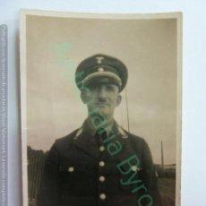 Militaria: FOTOGRAFÍA ANTIGUA ORIGINAL. SOLDADO NAZI. DIVISIÓN AZUL. (9 X 6 CM). Lote 158653298