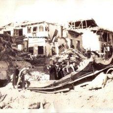 Militaria: RUINAS ALCAZAR DE TOLEDO VISTO POR EL PUEBLO TRAS ASEDIO 1936 GUERRA CIVIL. Lote 158780162