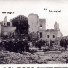 Militaria: BOMBARDEO SOBRE SEVILLA, SIN IDENTIFICAR LUGAR POSIBLEMENTE 1936 GUERRA CIVIL LEGION CONDOR. Lote 158784902