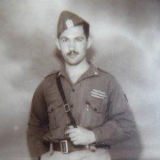 Militaria: FOTOGRAFÍA SARGENTO ARTILLERÍA DEL EJÉRCITO NACIONAL. GUERRA CIVIL. Lote 158862274