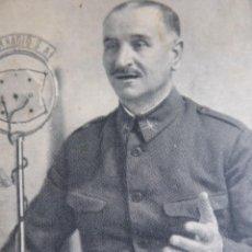 Militaria: POSTAL GENERAL QUEIPO DE LLANO. FORJADORES DE IMPERIO JALÓN ANGEL . Lote 158867190