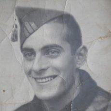 Militaria: FOTOGRAFÍA SARGENTO DEL EJÉRCITO NACIONAL. ORENSE. Lote 158978534