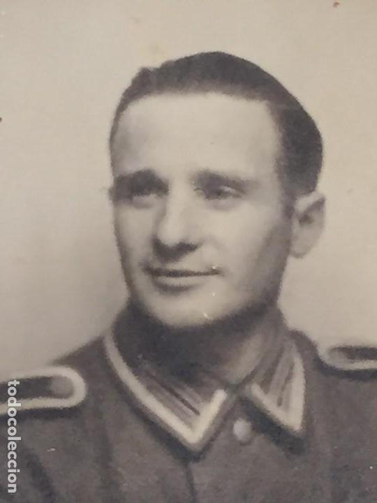 Militaria: FOTO SUBOFICIAL ALEMAN WEHRMACHT 50X38MM ORIGINAL - Foto 3 - 159143422