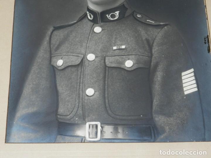 Militaria: (M) FOTOGRAFIA MILITAR AÑOS 20 , GRAN TAMAÑO , 50 X 40 CM, SEÑALES DE USO - Foto 3 - 159553574