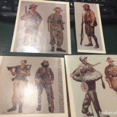 Militaria: UNIFORMIDAD 2 GUERRA MUNDIAL PAÍSES PARTICIPANTES. Lote 159556754