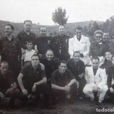 Militaria: FOTOGRAFÍA FALANGISTAS.. Lote 159818250